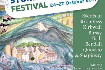 Orkney Storytelling Festival Official Poster