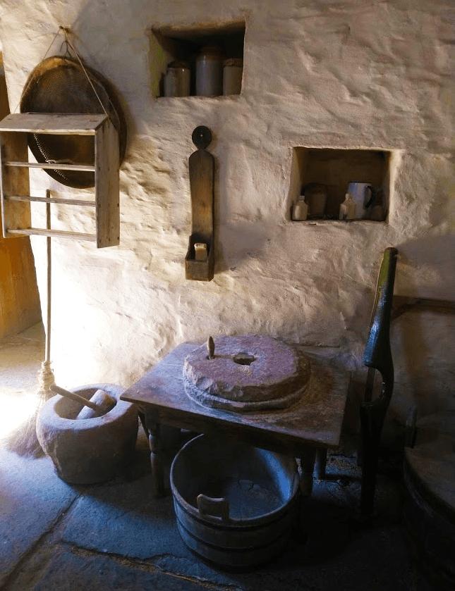 original tools at corrigall farm museum