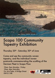 poster for the community tapestry.
